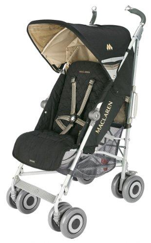 Maclaren Techno XLR Stroller, Black/Champagne