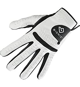 Bionic Mens Relaxgrip Golf Gloves Cadet