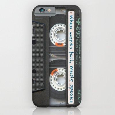 society6(ソサエティシックス) iPhone6(4.7インチ)ケースカセットiPhone  Cassette iPhone - Words並行輸入品