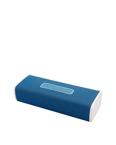 NUEBOO Lautsprecher Bluetooth Superbass blau
