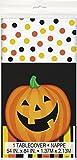 Mantel de plástico calabaza Halloween