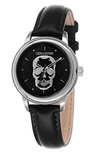Zadig & Voltaire ZV 116/AA Antik  - Wristwatch Unisex, Leather, Band Colour: Black
