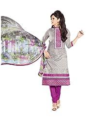 DivyaEmporio Women's Salwar Suit Dupatta Unstitched Dress Material (Free Size) - B00S7QAAOU