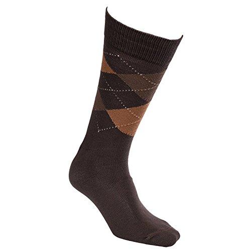 johnston-murphy-mens-classic-argyle-sock-chocolate-light-brown