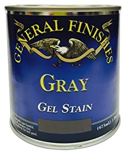 General finishes gray gel stain 1 2 pint 15 95 free shipping on