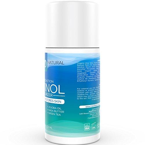 {Retinol क्रीम 2.5% चेहरा और आंखें के लिए मॉइस्चराइजर