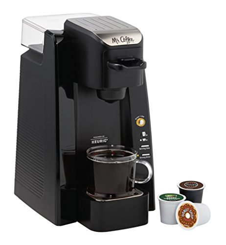 Mr. Coffee BVMC-SC500-1 Single K-Cup Brewing System, 24 oz, Black