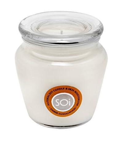 The Soi Co. Moisturizing Keepsake 16-Oz. Candle, Amber Sandalwood