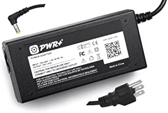Pwr+® 65W 14 Ft AC Adapter Laptop Charger for Asus K52 K52F K53 K53E K53TA K53U K55 K55A K55N K50 K50IJ K60 K60I K60IJ N56 N56V N56VM N53 N53SV X44H X53E X53U X54C X54H X55A X55C X75A U36 U36JC U36SD U46 U46E U47A Power Supply Cord