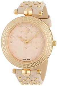 (新品)Versace Women's VK7020013Rose Gold Stainless Watch范思哲女式腕表$1,474.30