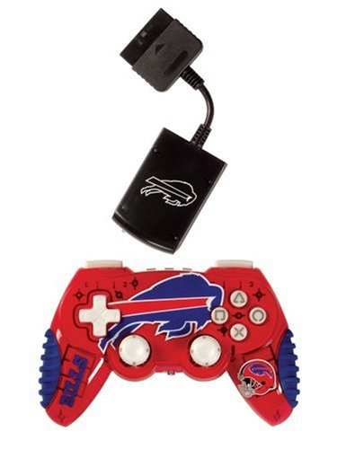 Officially Licensed NFL Wireless PS2 Controller by Mad Catz