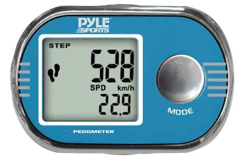 XHUU9 Pyle Sports PPD71 Pedometer Personalized Calibration for Walking and Running