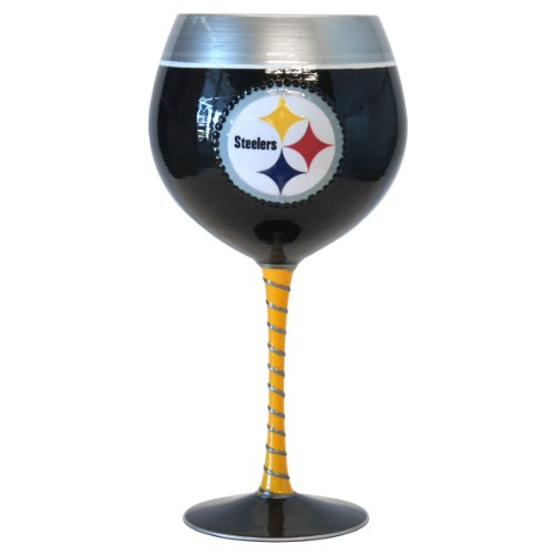 NFL Pittsburgh Steelers 33-Ounce Artisan Wine Glass at Amazon.com