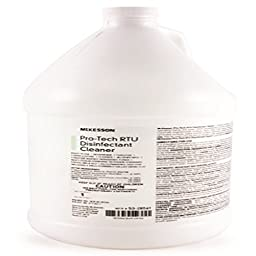 McKesson Pro-Tech Disinfectant Cleaner Ready To Use Gallon Latex Free - Model 53-28561
