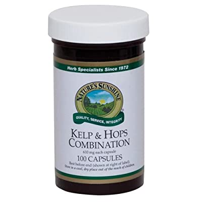 Kelp & Hops Combination (100 capsules) from Nature's Sunshine