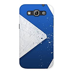 Gorgeous Blue Paint Work Job Back Case Cover for Galaxy Grand Quattro