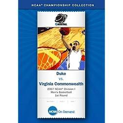 2007 NCAA(r) Division I Men's Basketball 1st Round - Duke vs. Virginia Commonwealth