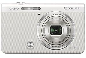 CASIO デジタルカメラ EXILIM EX-ZR50WE 16.1M画素 自分撮りチルト液晶 メイクアップトリプルショット ホワイト