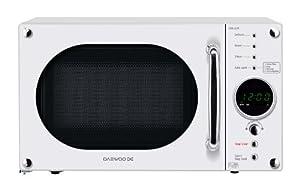 Daewoo KOR6N9RW Digital Microwave, 800 Watt, 20 Litre - White