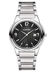 Roamer of Switzerland Men's 507980 41 55 50 Swiss Elegance Black Dial Stainless Steel Date Watch
