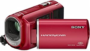 Sony DCRSX30ER Handycam Camcorder With 4GB Internal Memory (2h 55mins) - Red