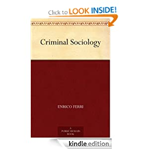Logo for Criminal Sociology