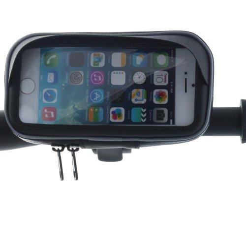 XiRRiX motorista bolsa para Samrtphone móvil - Funda con fijación en manillar de bicicleta/ATV/soporte de moto Smartphone M Long