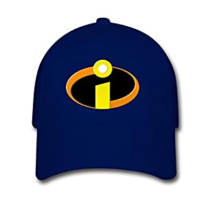 Opeeda Navy Adjustable Baseball Caps For Men/Women Printed Incredibles Logo