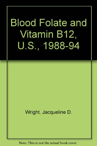 Blood Folate And Vitamin B12, U.S., 1988-94