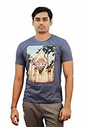 Kothari Men's Mission Royal short sleeve Round neck T.shirt