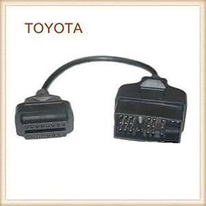 OBD2 OBDII 変換ケーブル TOYOTA トヨタ 22ピン OBD 16ピン