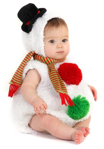 [Toddler Sized Snowman Costume (18 Months-2T)] (Princess Costumes For Babies)