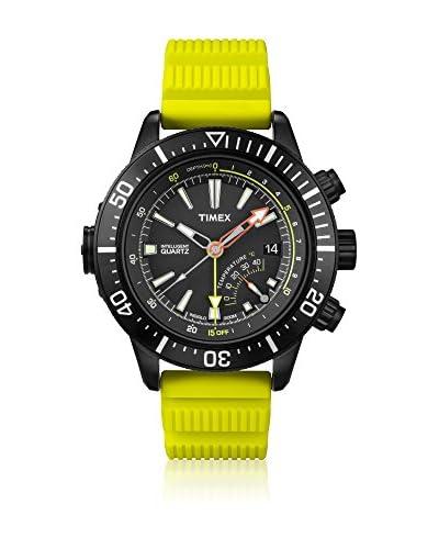 TIMEX Reloj de cuarzo Man Intelligent Depth Amarillo 46 mm
