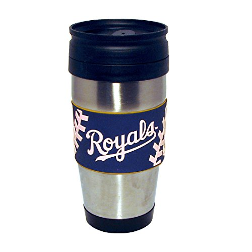 mlb-kansas-city-royals-stainless-steel-travel-tumbler-with-pvc-wrap-15-ounce-team-color-by-hunter-mf