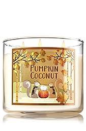 Bath & Body Works 3-Wick Candle Pumpkin Coconut