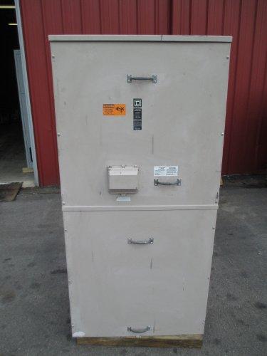 Square D 1000A 3R Ez Meter Pak Main Breaker Panel 240/120 Vac 3P4W Mhf321000