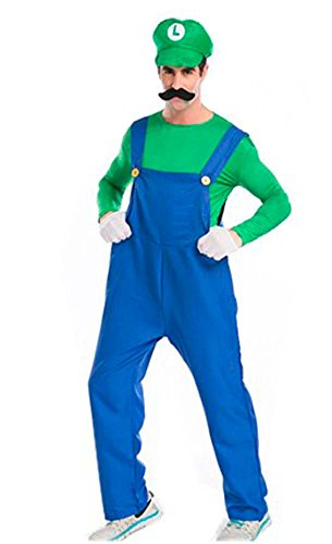 Women's Super Mario Brothers Deluxe Costume Green