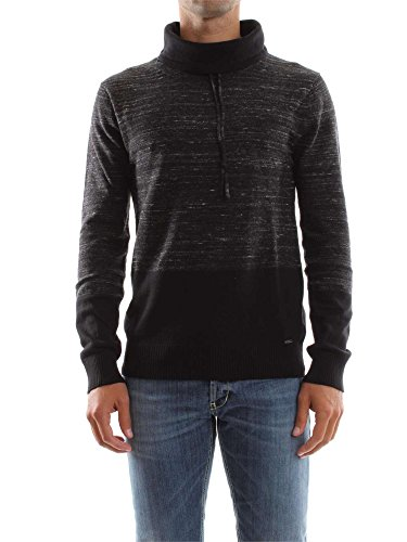 GUESS M63R53 Z1BJ0 BLACK PULL Homme