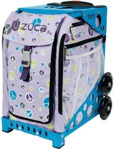 Amazon.com : ZUCA Sport Insert Bag - PEACE (Purple with Peace Signs
