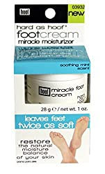 Hoof Moisturizing Miracle Foot Cream W/ Peppermint Scent 1 Oz