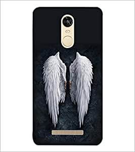 PrintDhaba Feathers D-2093 Back Case Cover for XIAOMI REDMI NOTE 3 (MEDIATEK) (Multi-Coloured)
