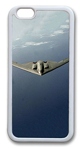 Imartcase Iphone 6 Case, B2 Spirit Us Air Force Iphone 6 Case Tpu White