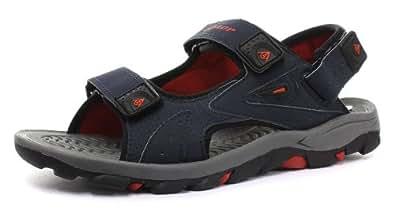 Dunlop , Sandales pour homme - Multicolore - Bleu marine/rouge, 10 UK