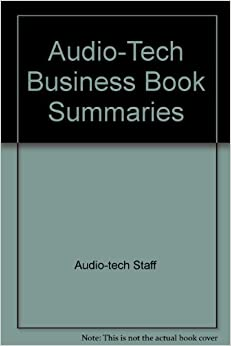 Audio tech business book summaries