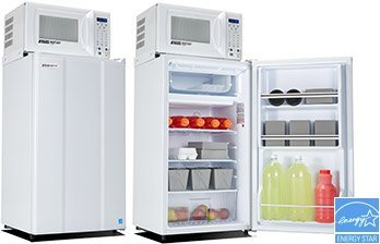 MicroFridge All Refrigerator & Microwave Combo Appliance, White - 2.3 cu ft. (Mini Fridge Microwave Combo compare prices)