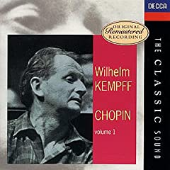 Wilhelm Kempff plays Chopin Vol.1