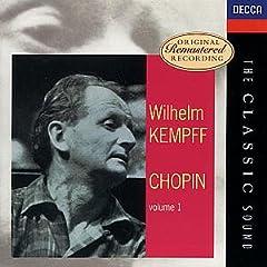 Wilhelm Kempff plays Chopin Vol.1