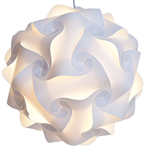 Lightingsky Ceiling Pendant DIY IQ Jigsaw Puzzle Lamp