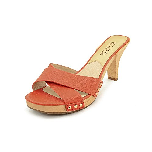 Michael Kors Amelie Mandarin Mule Sandal Woman Size 6 M