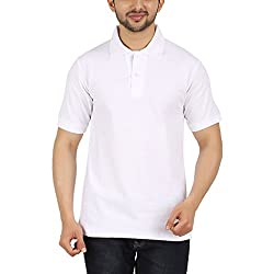 Garudaa Garments Men's White T Shirt